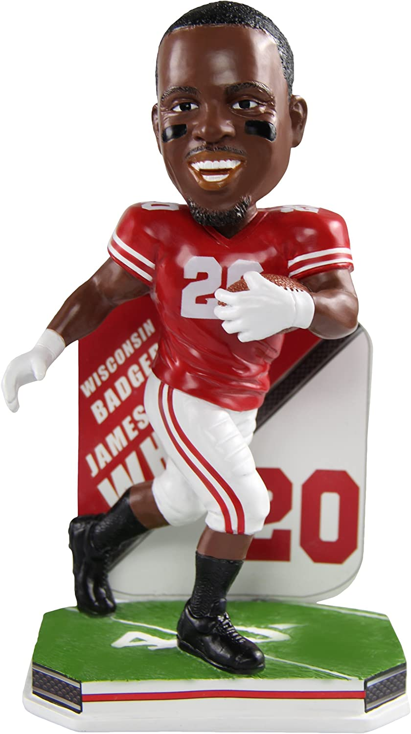 Amazon.com: James White Wisconsin Badgers Special Edition College ...
