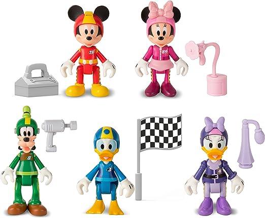Imc Toys 182486 - Preescolar Pack 5 Roadster Racers Mickey , Modelos/colores Surtidos, 1 Unidad: Amazon.es: Juguetes y juegos
