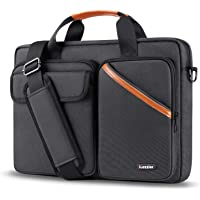iCozzier 13-13.3 Inch Multi-Pocket Laptop Sleeve Briefcase Large Capacity Shoulder Bag Electronic Accessories Organizer…