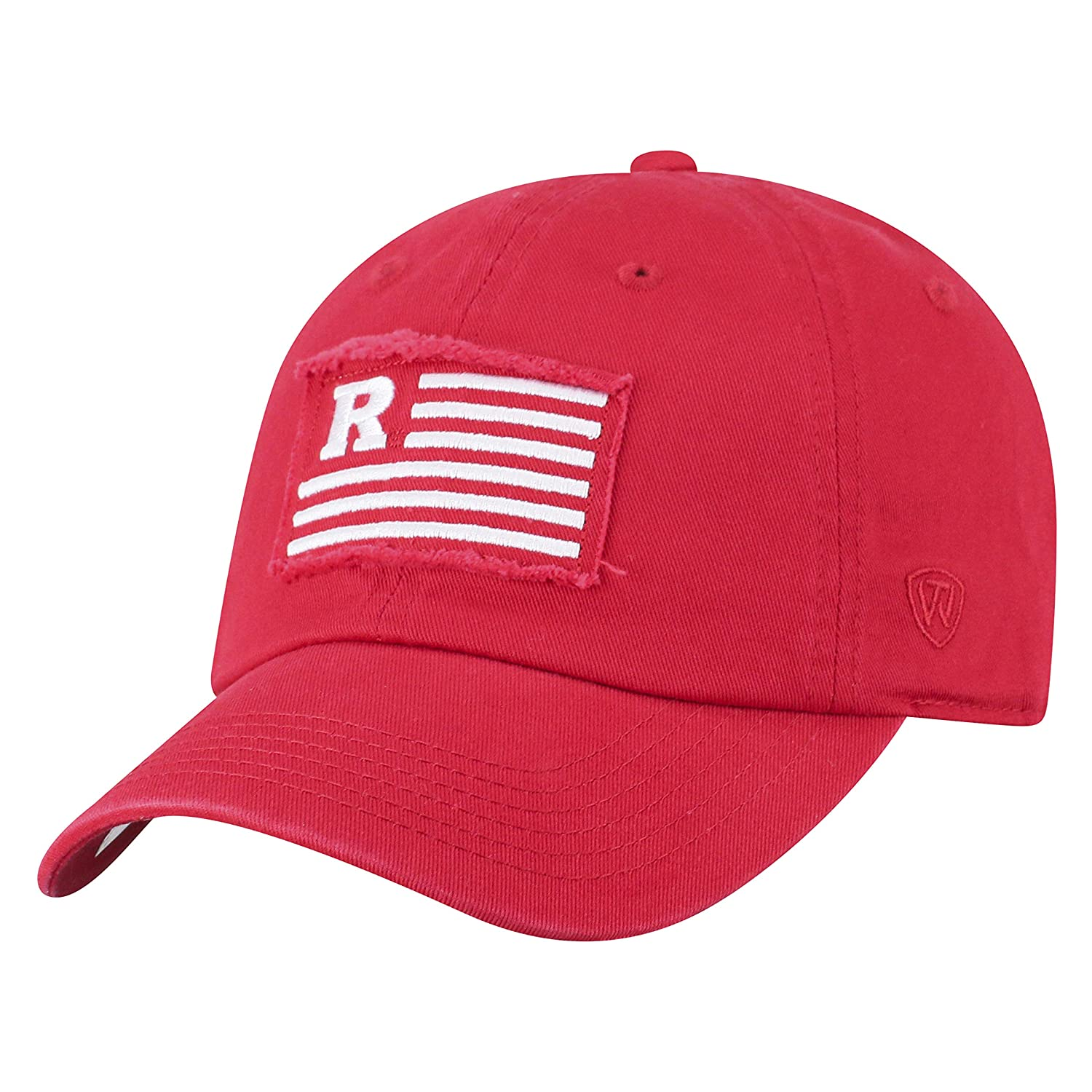 Top of the World Rutgers Scarlet Knights Official NCAA Adjustable Flag 4 Hat Cap Curved Bill 419671