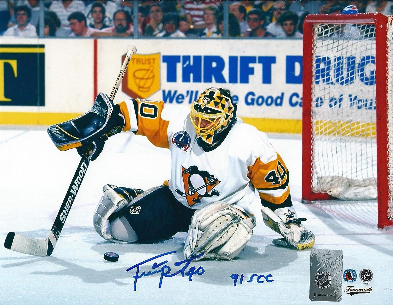 promo code 61474 c6fd6 Autographed Frank Pietrangelo 8x10 Pittsburgh Penguins Photo ...