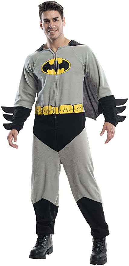 sc 1 st  Amazon.com & Amazon.com: Rubieu0027s Costume Co Menu0027s Batman One-Piece Costume: Clothing