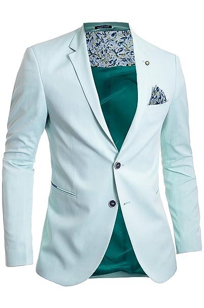 comprar bien calidad autentica gran venta de liquidación Hombre Blazer de Verano Chaqueta Casual Formal Colores Vivos ...