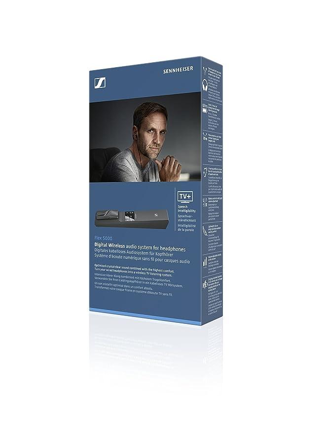 Sennheiser Flex 5000 - Receptor para Sistema inalámbrico de TV, Color Negro: Amazon.es: Electrónica