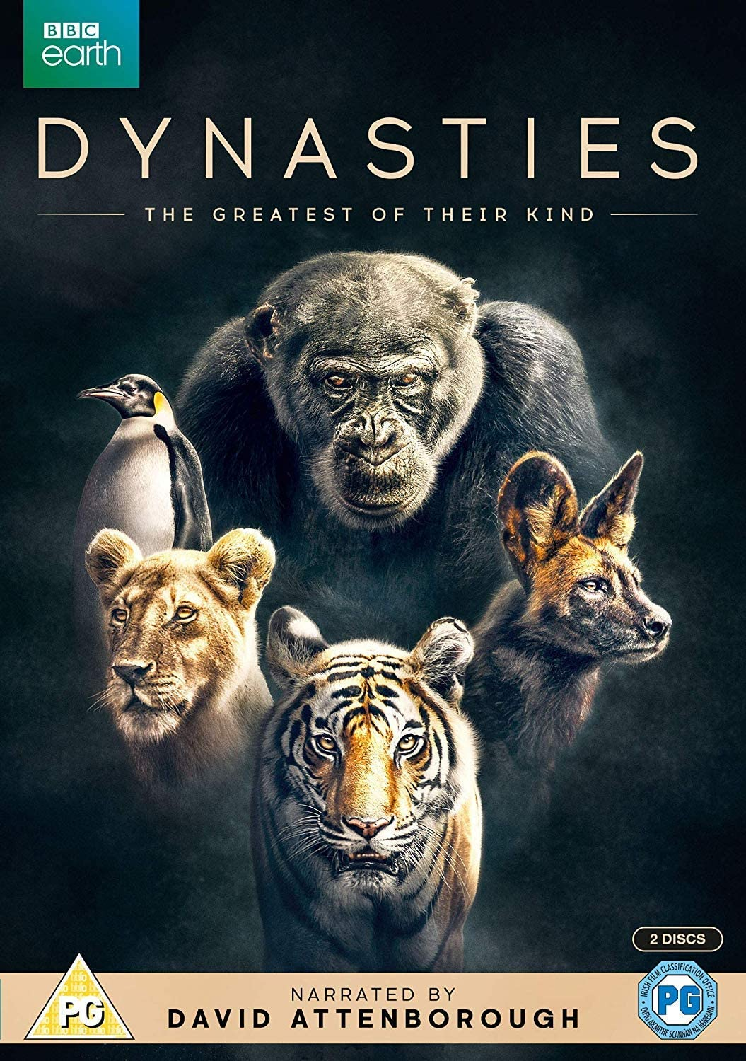 Dynasties [DVD] [2018]: Amazon.co.uk: Sir David Attenborough, Sir David Attenborough: DVD & Blu-ray