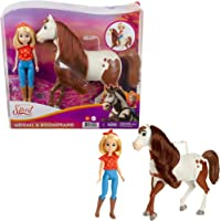 Spirit Abiagil met boomerang speelgoedpaard met paardenhaar en gewrichtskop (Mattel GXF23)