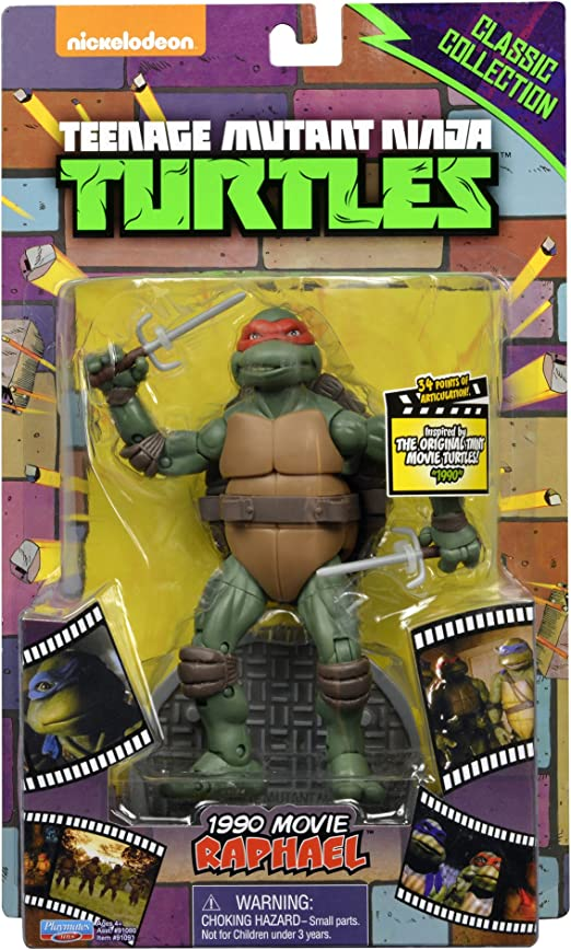 Teenage Mutant Ninja Turtles Classic Collection Original Movie Raphael Action Figure