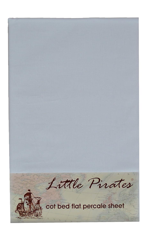 Baby Crib Flat sheet 100/% Luxury Brushed Cotton in White Bobbico Ltd