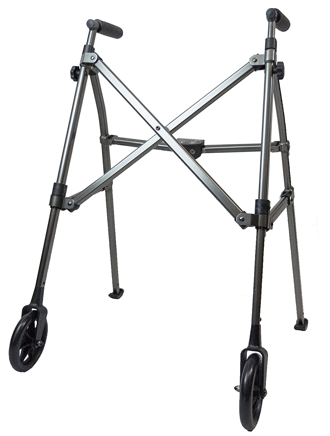 Able Life Space Saver Lightweight Folding Travel Walker with 6 ...