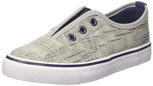 North Star 3192154, Sneaker a Collo Basso Bambino, Grigio, 35 EU