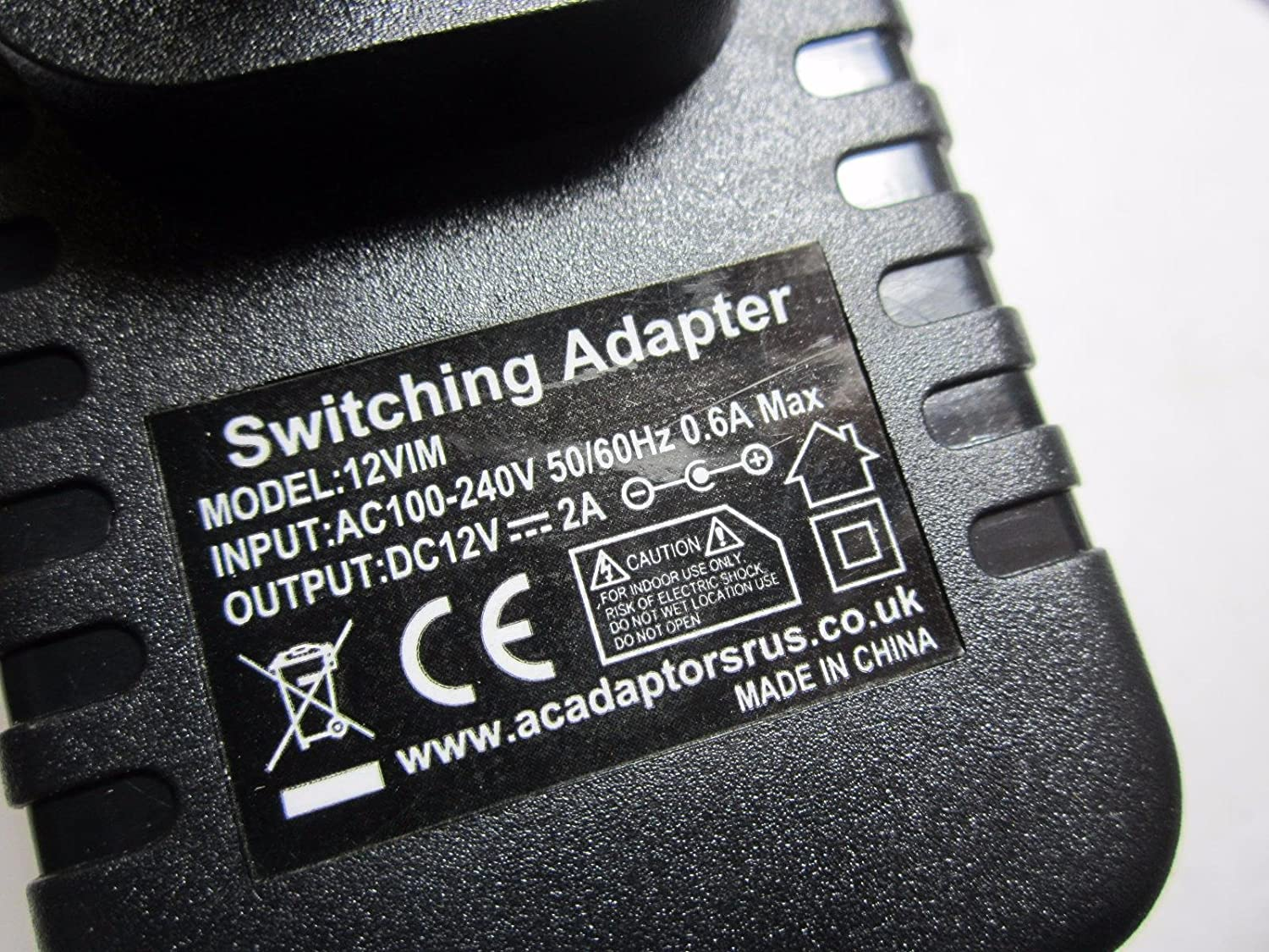 12V 2A AC-DC Adaptor Power Supply Charger for Medion Akoya S2218 ...