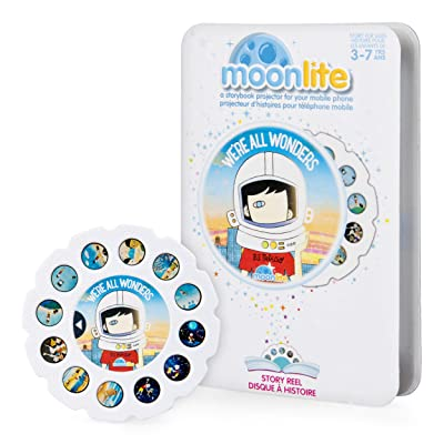 Moonlite - We're All Wonders Story Reel for Moonlite Storybook Projector, for Ages 3 and Up: Toys & Games