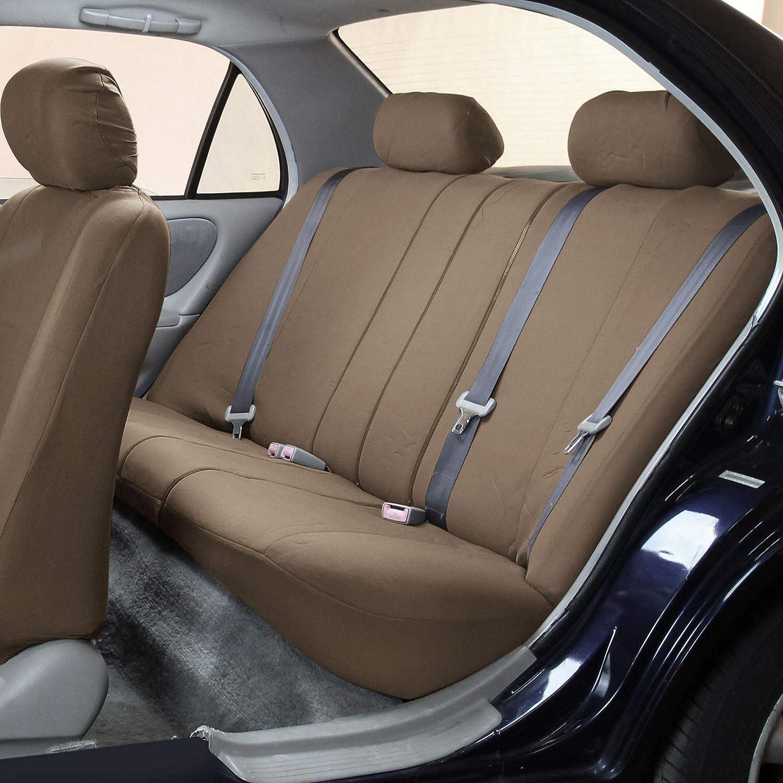Truck FH-FB102114 Full Set Classic Cloth High Back Car Seat Covers Suv Blue//Black- Fit Most Car or Van