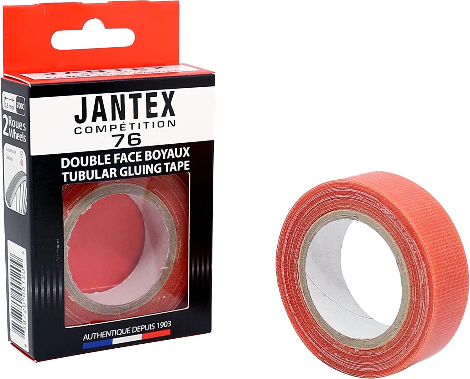 NEW Velox Jantex Competition 76 Deluxe Adhesive Rim Tape Tubular Tire Sewup Tyre
