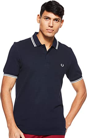 Fred Perry Twin Tipped Shirt Polo para Hombre: Amazon.es: Ropa y accesorios