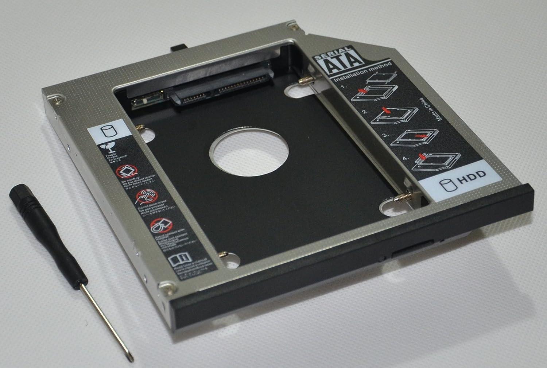 DY-tech 2nd HDD SSD Hard Drive Caddy for Lenovo Thinkpad R400 T420 T420i T430 T430i T510 T520 T530 W510 W520 W530