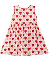 Toby Tiger Girl's Strawberry Party Dress