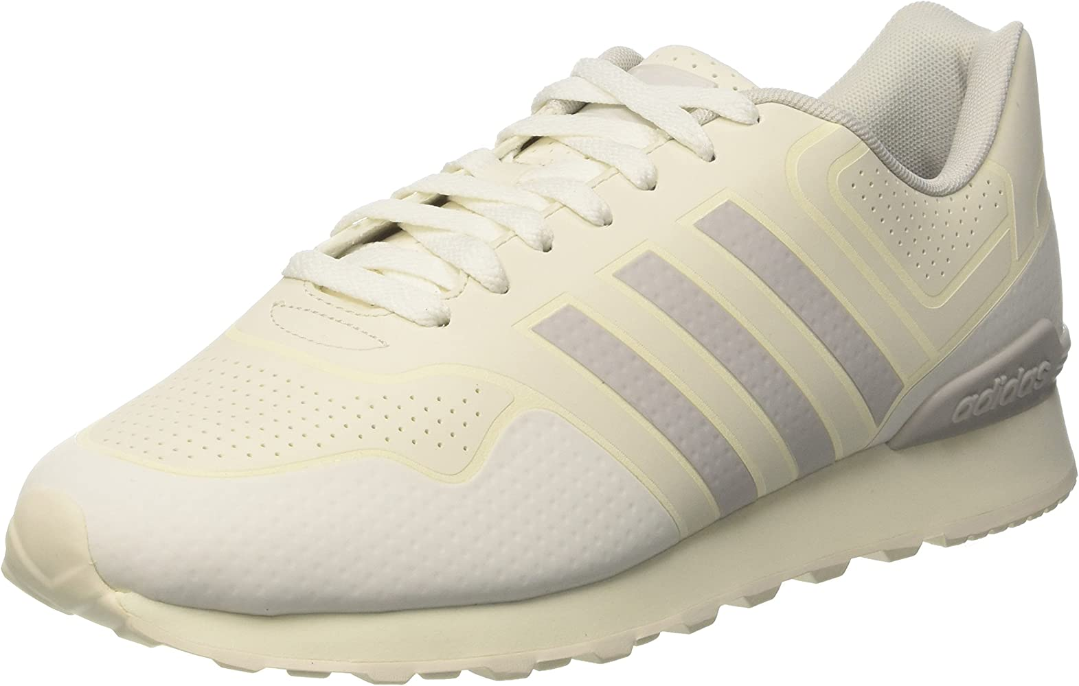 White HommeBlanc 10k CasualSneakers Basses Adidas Grey Onechalk vnmNy0w8OP