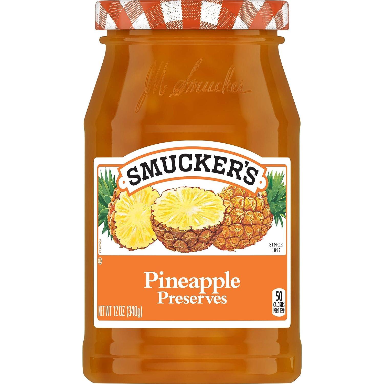 Smucker's Pineapple Preserves, 12 Ounces