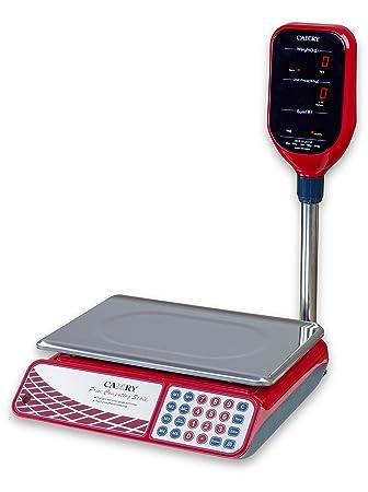 Camry – Báscula electrónica Informática digitral precio precios 33LB/15 kg para alimentos carne frutas