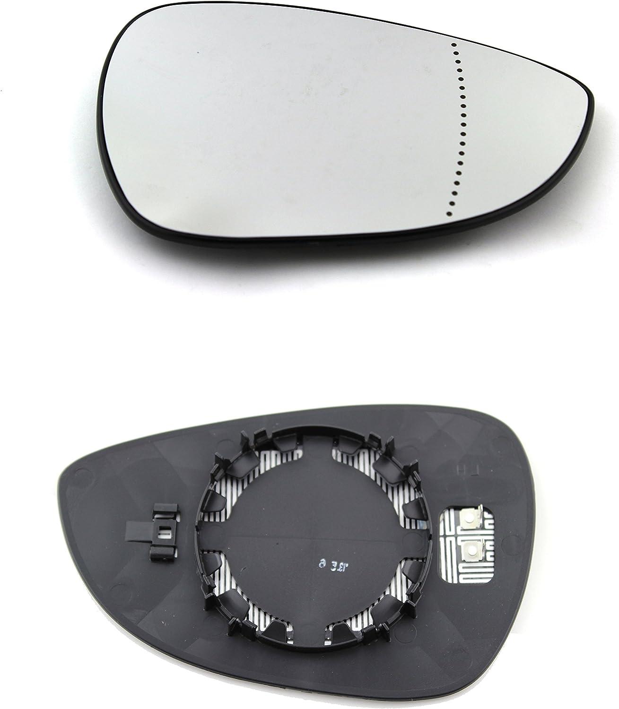 TarosTrade 57-0726-L-50807 Vetro Specchietto Retrovisore Riscaldabile Lato Sinistro