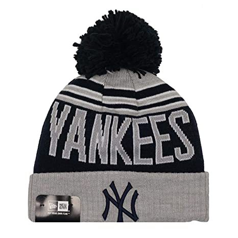 hot sale online fe45c 330ab Image Unavailable. Image not available for. Color  New Era Authentic, MLB New  York Yankees NY Winter Blaze Cuff Knit Beanie ...
