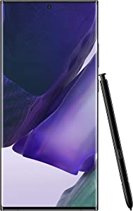 Samsung Electronics Galaxy Note 20 Ultra 5G Factory Unlocked Android Cell Phone | US Version | 512GB of Storage | Mobile Gaming Smartphone | Long-Lasting Battery | Mystic Black