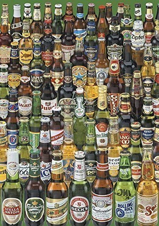 SiJOO Spot España EDUCA Import Puzzle Rompecabezas Cola Botella de Cerveza 1000 Renoir 12736: Amazon.es: Hogar