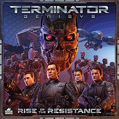 River Horse Studios Terminator Genisys: Rise of The Resistance Game: Toys & Games