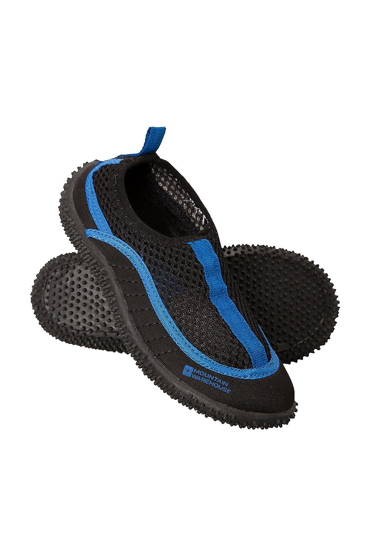 Mountain Warehouse Bermuda embroman los zapatos del Aqua - zapatos de la nadada del neopreno, paneles de acoplamiento moje los zapatos, zapatos ligeros del agua