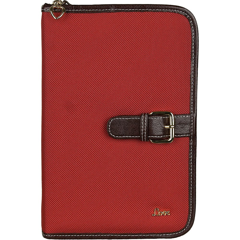 Protec Love Small/Thinline Book/Bible Cover (Red) Pro-Tec 207310