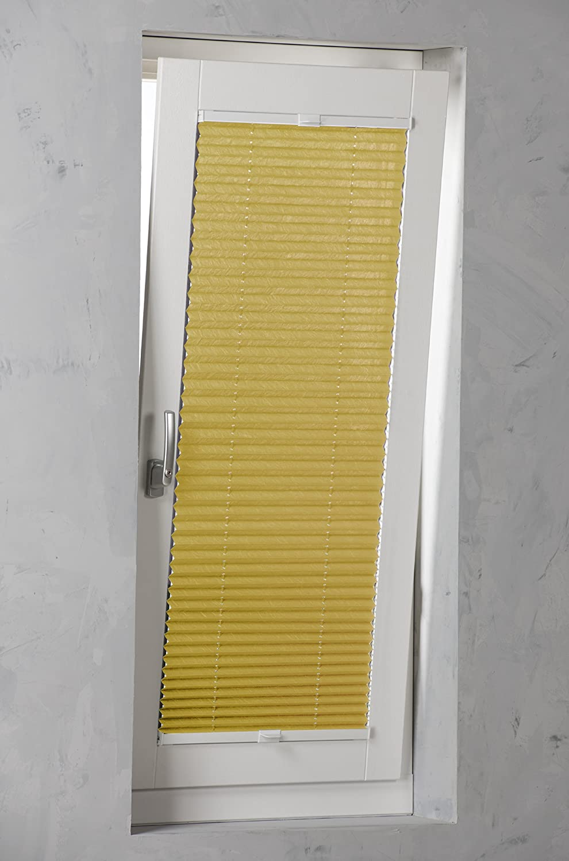 SANDEGA Plissee verspannt verspannt verspannt 120x130 Weiß B00KQFO5F0 Plissees ccb02c