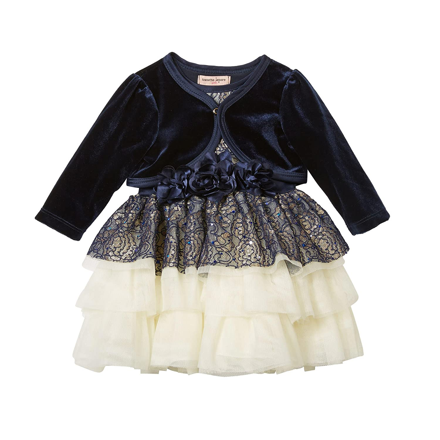 94ecac8cb Amazon.com: Nanette Lepore Baby and Toddler Girls Special Occasion Dress:  Clothing
