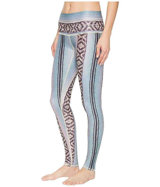 e331a87b31 Teeki Border Towns Blue Hot Pant Leggings at Amazon Women's Clothing store: