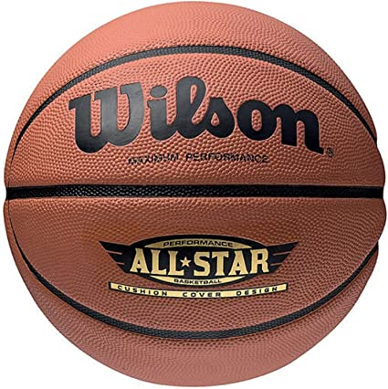 Wilson Performance All Star Balón, Unisex Adulto, marrón, 7 ...