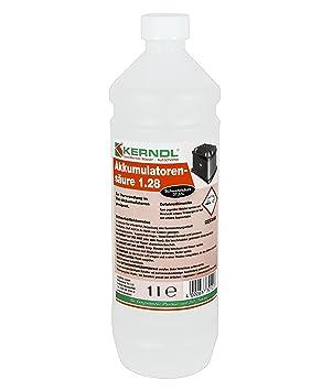 0bf64a82b85 Bouteille d acide de batterie - 1 l - Avec 37 % d acide sulfurique ...