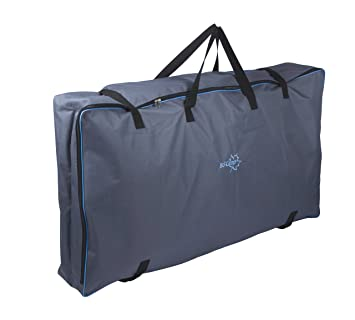 Bo-Camp - Bolsa de Transporte para 2 sillas de Acampada, 118 x 65 x 18 cm, Color Gris Oscuro