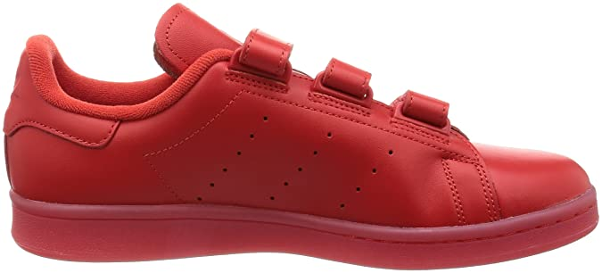 Amazon.com | adidas Originals Stan Smith Cf Mens Running Trainers Sneakers (UK 10 US 10.5 EU 44 2/3, red red red S80043) | Fashion Sneakers