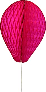 product image for 6-Pack 11 Inch Honeycomb Tissue Paper Balloon (Cerise)
