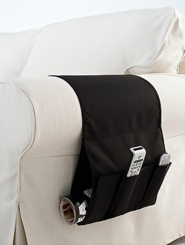 IKEA Flort Remote Control Holder Armchair Pocket Organiser 3D glasses Black by Ikea