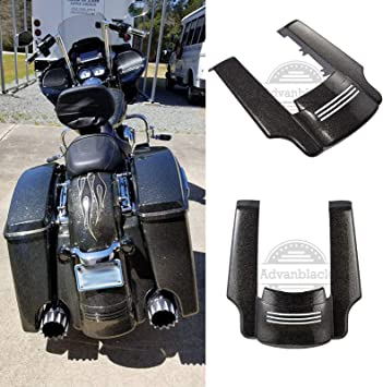 AQIMY Motorcycle Rear Fender Extension Stretched Filler for Harley Touring Street Road Glide 2014-2018 2017 2016