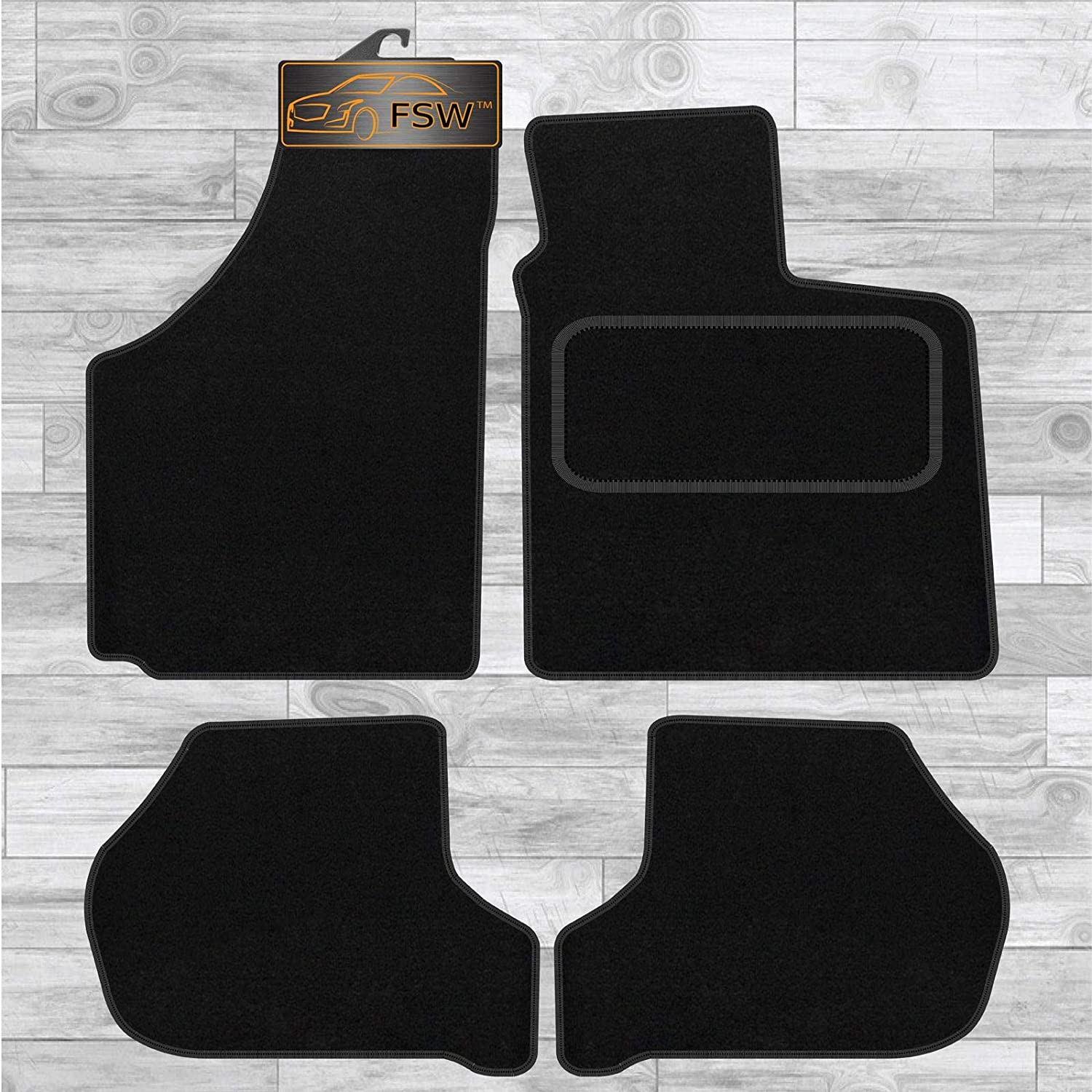 FSW C4 And Ds4 2011-On Fully Tailored Classic Carpet Car Floor Mats Black