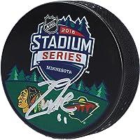 $55 » Zach Parise Minnesota Wild Autographed 2016 NHL Stadium Series Logo Hockey Puck - Fanatics Authentic Certified