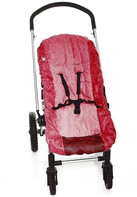 Wallaboo Kinderwagen//Buggy Schonbezug Bezug Ersatzbezug Baumwolle f/ür 3 und 5 Punkt Gurt WCS0308.801 WARM RED