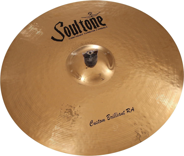 Soultone Cymbals CBRRA-CRR20-20 Custom Brilliant RA Crash Ride