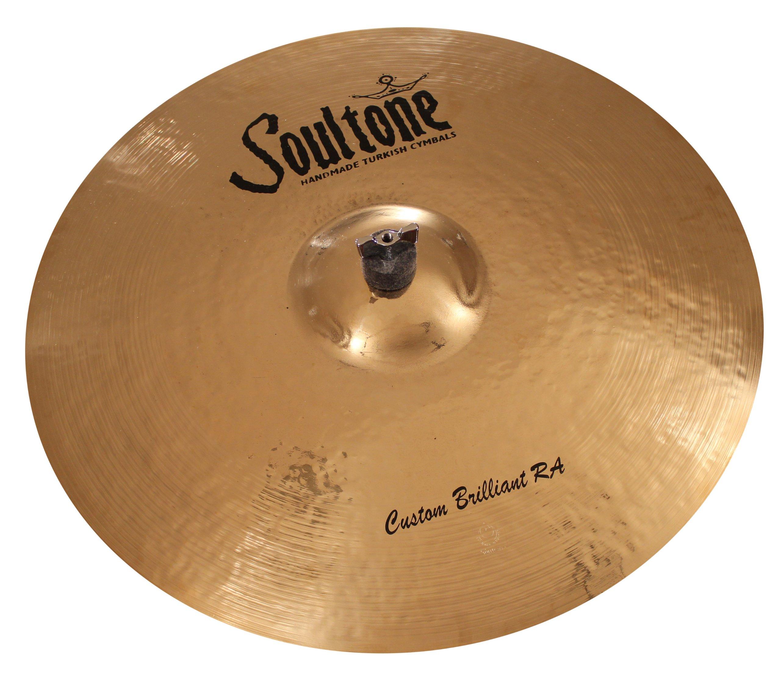 Soultone Cymbals CBRRA-RID24-24'' Custom Brilliant RA Ride by Soultone Cymbals