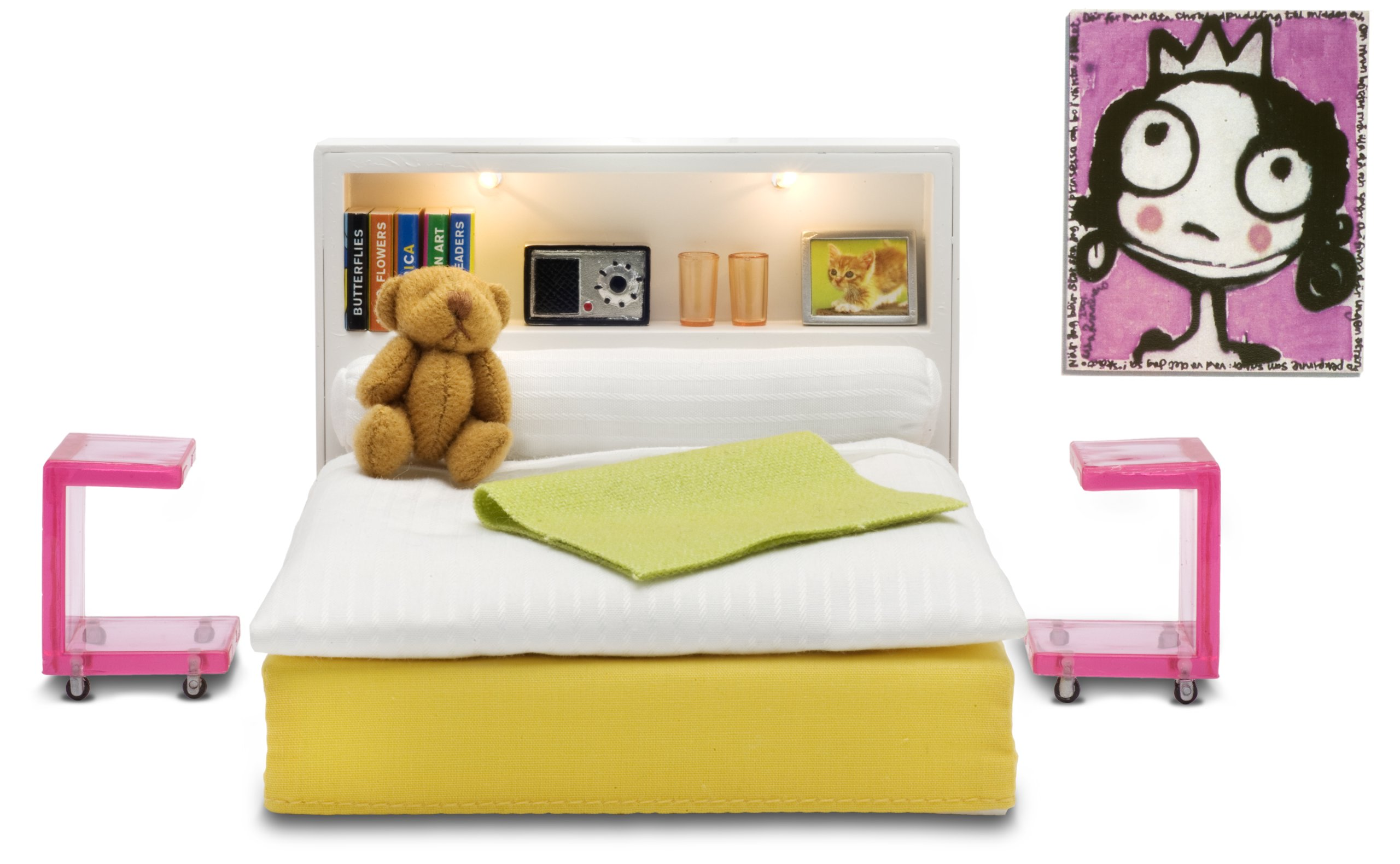 Lundby Stockholm Bedroom Set by Lundby
