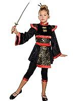 Amazon.com: Dragon Ninja Girl Kids Costume: Clothing