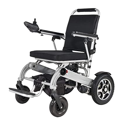 Silla de ruedas eléctrica plegable, silla de ruedas ligera ...
