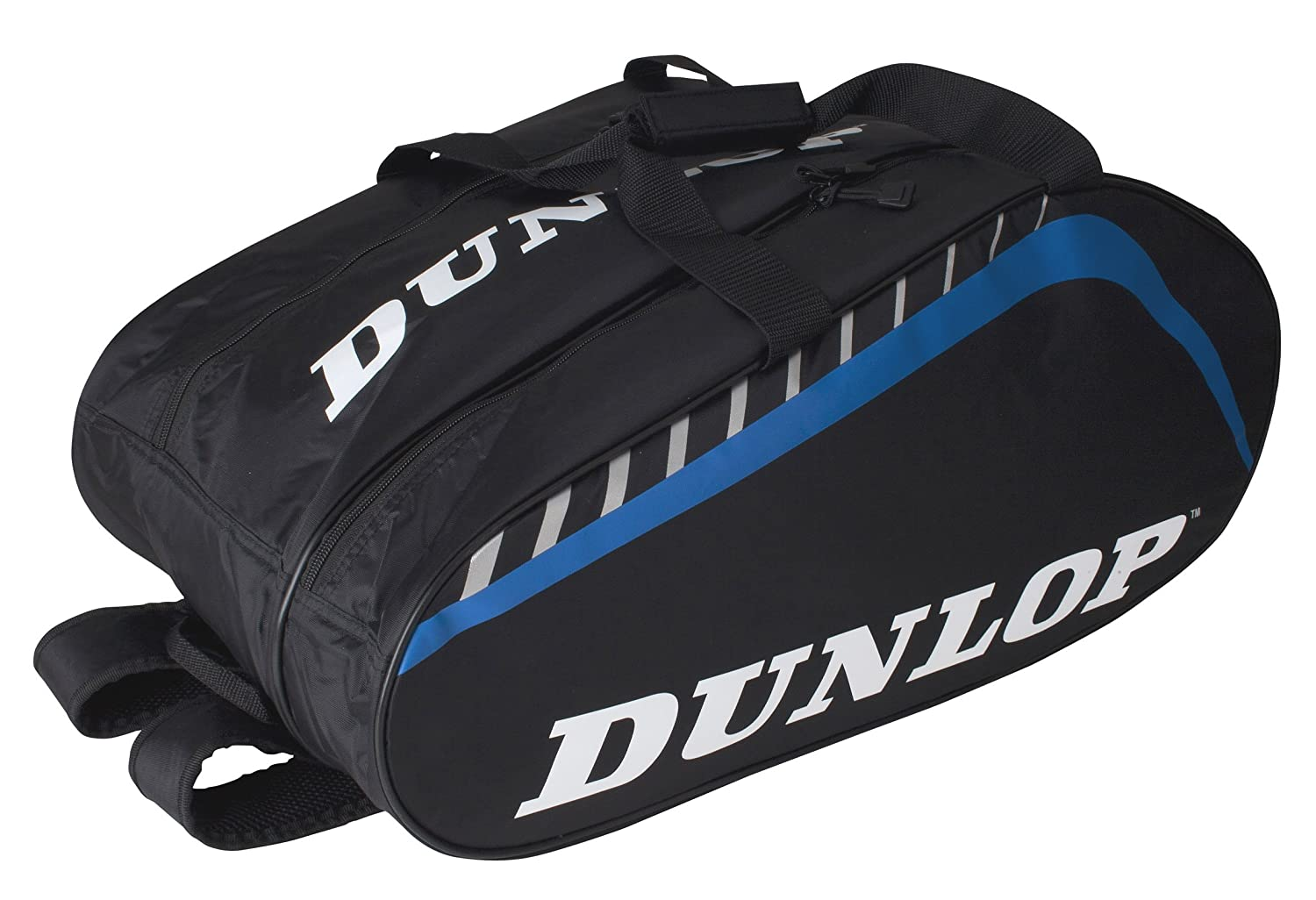 DUNLOP Paletero Play Grande - Mochila, Color Negro/Azul: Amazon.es ...